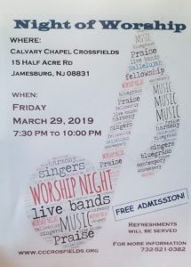 Night of Worship @ Calvary Chapel Crossfields